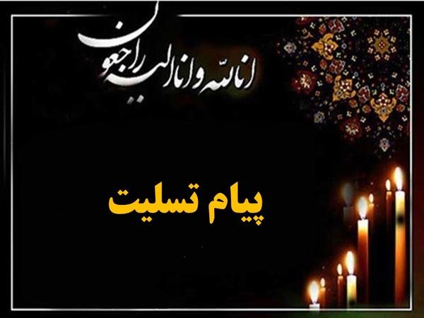 پیام تسلیت «حسن صادقی» به مناسبت درگذشت دبیر خانه کارگر مرودشت