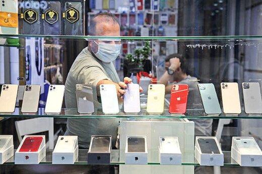 قیمت گوشیهای آیفون در بازار چقدر است؟