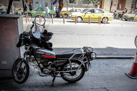 این موتورسیکلت را ۱۲۲ میلیون تومان بخرید