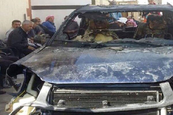 عضو کمیته آشتی سوریه هدف انفجار تروریستی قرار گرفت