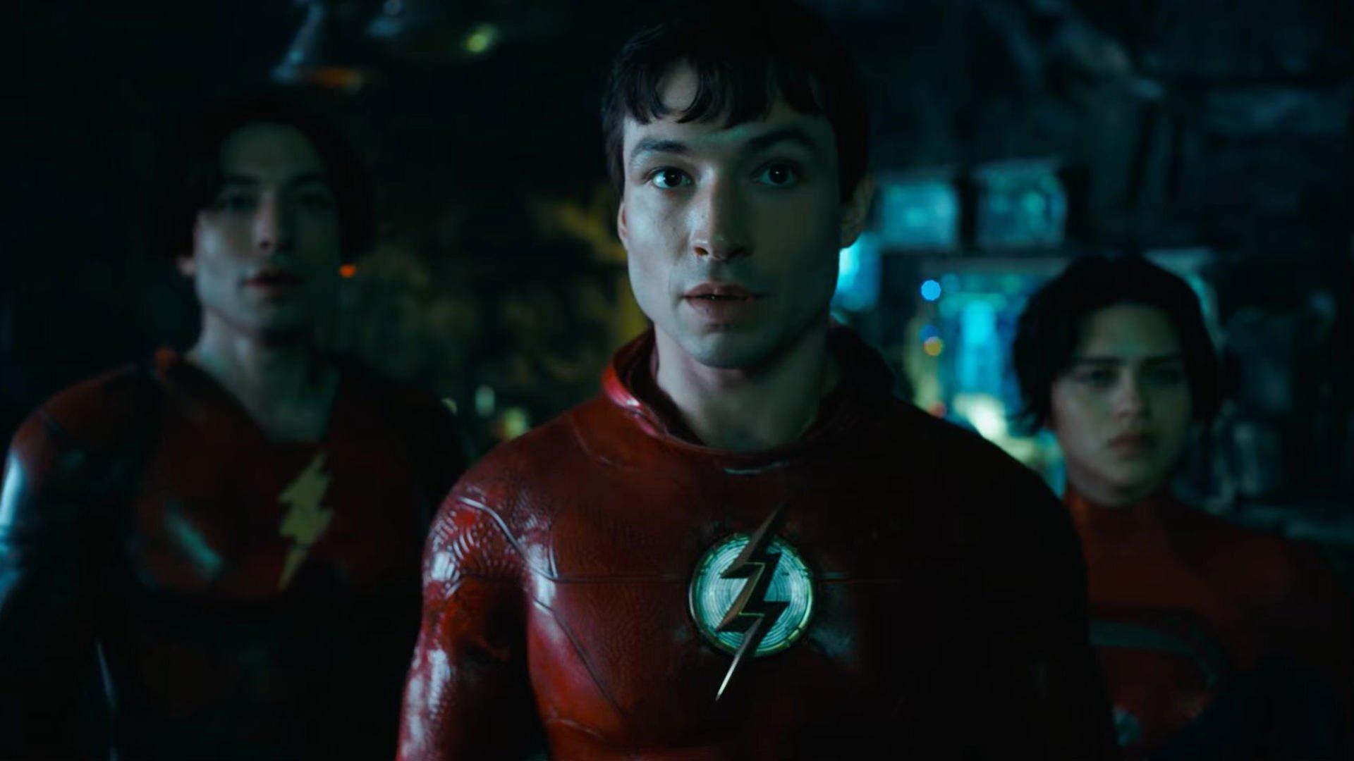 ملاقات فلش با بتمن مایکل کیتون در اولین تیزر تریلر فیلم The Flash